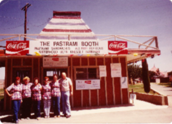 Pastrami Booth Picture