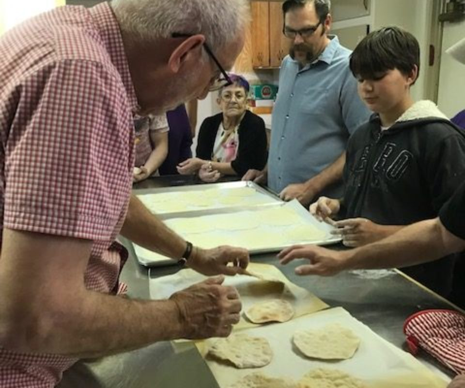 Matzah Making