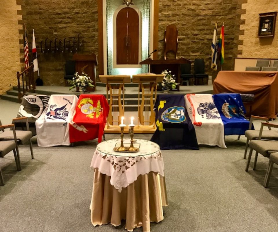 Veteran's Day Shabbat Service